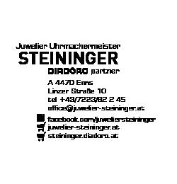 Logo von Juwelier Uhrmachermeister Steininger
